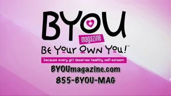 BYOU Magazine TV Spot, 'Be Yourself' - Thumbnail 3