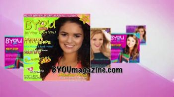 BYOU Magazine TV Spot, 'Be Yourself' - Thumbnail 1