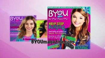 BYOU Magazine TV Spot, 'Be Yourself' - Thumbnail 2