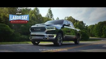 Ram Trucks Labor Day Sales Event TV Spot, 'Hurry In' Song by Eric Church [T2] - 14 commercial airings