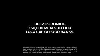 Subway TV Spot, 'Hunger Action Month' - Thumbnail 9
