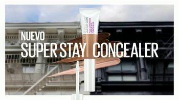 Maybelline New York Super Stay Concealer TV Spot, 'Despierta toda la noche' [Spanish]