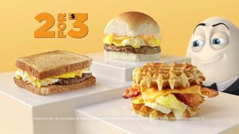White Castle Breakfast Sliders TV Spot, 'Humpty D: 2 for 3' - Thumbnail 8