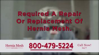 Brenes Law Group, P.C. TV Spot, 'Hernia Mesh Implants' - Thumbnail 4