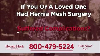 Brenes Law Group, P.C. TV Spot, 'Hernia Mesh Implants' - Thumbnail 6