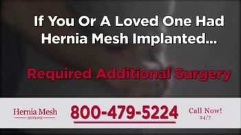 Brenes Law Group, P.C. TV Spot, 'Hernia Mesh Implants' - Thumbnail 9