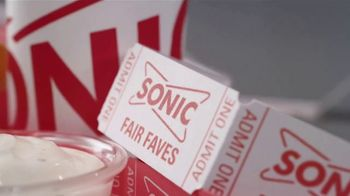 Sonic Drive-In Fair Faves TV Spot, 'La feria viene a ti' [Spanish] - Thumbnail 1