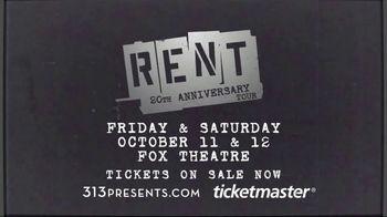 Rent 20th Anniversary TV Spot, '2019 Detroit: Fox Theatre' - Thumbnail 10