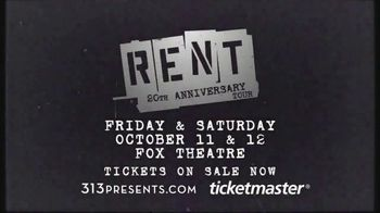 Rent 20th Anniversary TV Spot, '2019 Detroit: Fox Theatre' - Thumbnail 9