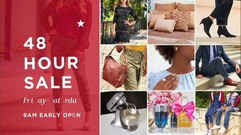 Macy's 48 Hour Sale TV Spot, 'Deals of the Day: Jewelry, Styles and Booties' - Thumbnail 1