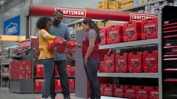 Lowe's TV Spot, 'Craftsman 121-Piece Chrome Mechanic's Tool Set' - Thumbnail 3