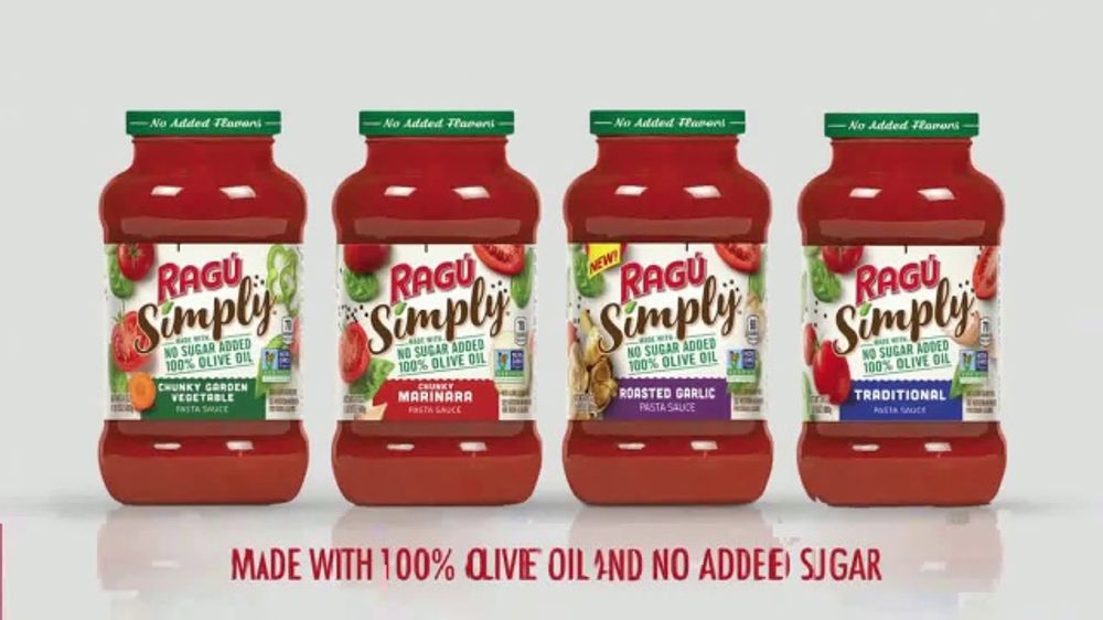 Ragu Simply TV Commercial, 'WE tv: Dinner Formula'