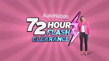 AutoNation 72 Hour Flash Clearance TV Spot, '2019 Camry SE'