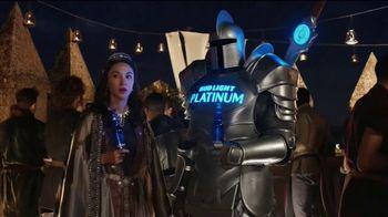 Bud Light Platinum TV Spot, 'Roofed-Top Bar'
