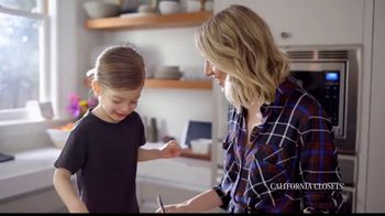 California Closets TV Spot, 'My Life with California Closets: Erin's Closet Story' - Thumbnail 4
