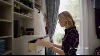 California Closets TV Spot, 'My Life with California Closets: Erin's Closet Story' - Thumbnail 6