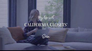 California Closets TV Spot, 'My Life with California Closets: Erin's Closet Story' - Thumbnail 9