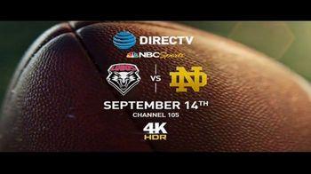 DIRECTV 4K TV Spot, 'College Football: Notre Dame' - Thumbnail 9