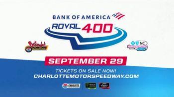 Charlotte Motor Speedway TV Spot, '2019 Bank of America Roval 400' - Thumbnail 7