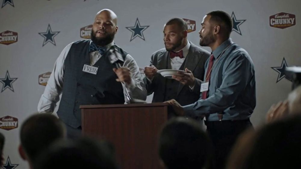 Campbell's Chunky Classic Chicken Noodle TV Commercial, 'Brothers' Featuring Dak Prescott