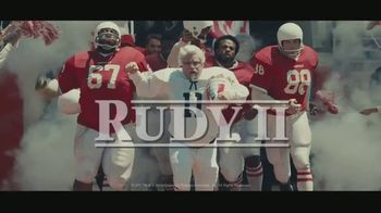 KFC TV Spot, 'Rudy II: He's Colonel Sanders Now' Featuring Sean Astin, Song by Jerry Goldsmith - 96 commercial airings