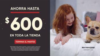 Mattress Firm Venta de Labor Day TV Spot, 'Extendida: King a precio Queen' [Spanish] - Thumbnail 3