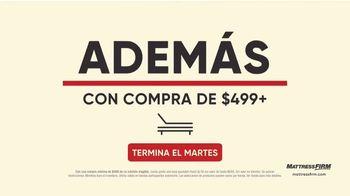 Mattress Firm Venta de Labor Day TV Spot, 'Extendida: King a precio Queen' [Spanish] - Thumbnail 4