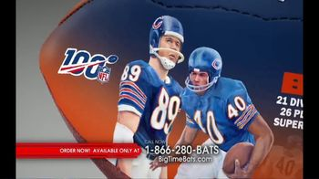 Big Time Bats TV Spot, 'NFL Legacy Art' - Thumbnail 1