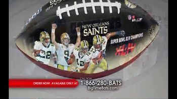 Big Time Bats TV Spot, 'NFL Legacy Art' - Thumbnail 2