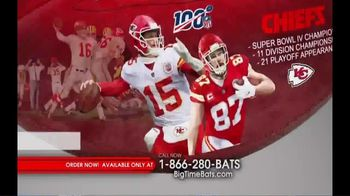 Big Time Bats TV Spot, 'NFL Legacy Art' - Thumbnail 3
