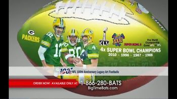 Big Time Bats TV Spot, 'NFL Legacy Art' - Thumbnail 4