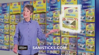 Sani 360° Sani Sticks TV Spot, 'Running Clear and Smelling Great' - Thumbnail 1