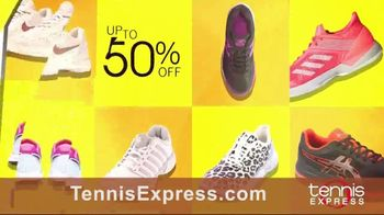 Tennis Express September Savings TV Spot, 'Shoes, Clothing, Rackets & Bags: Up to 80 Percent Off' - Thumbnail 2