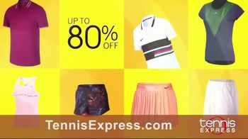 Tennis Express September Savings TV Spot, 'Shoes, Clothing, Rackets & Bags: Up to 80 Percent Off' - Thumbnail 3