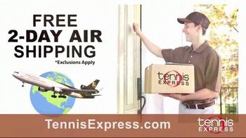 Tennis Express September Savings TV Spot, 'Shoes, Clothing, Rackets & Bags: Up to 80 Percent Off' - Thumbnail 6