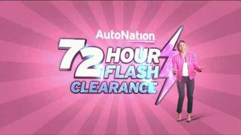 AutoNation 72 Hour Flash Clearance TV Spot, '2019 Honda Civic LX Sedan'