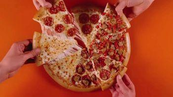 Little Caesars HOT-N-READY Quattro Pizza TV Spot, '4-in-1' - Thumbnail 8