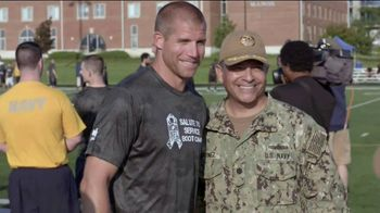 USAA TV Spot, 'Salute to Service Boot Camp' Featuring Jordy Nelson and Brian Urlacher - Thumbnail 3