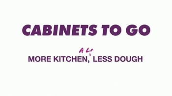 Cabinets To Go Stackable Savings Sale TV Spot, 'Save Big' - Thumbnail 1