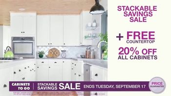 Cabinets To Go Stackable Savings Sale TV Spot, 'Save Big' - Thumbnail 3