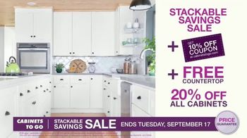 Cabinets To Go Stackable Savings Sale TV Spot, 'Save Big' - Thumbnail 4