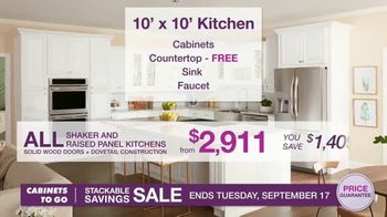 Cabinets To Go Stackable Savings Sale TV Spot, 'Save Big' - Thumbnail 5