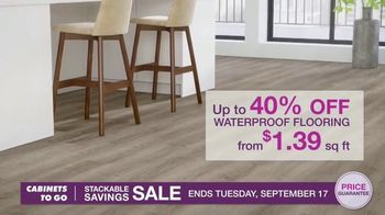 Cabinets To Go Stackable Savings Sale TV Spot, 'Save Big' - Thumbnail 6