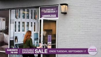 Cabinets To Go Stackable Savings Sale TV Spot, 'Save Big' - Thumbnail 8