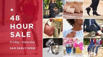 Macy's 48 Hour Sale TV Spot, 'Deals of the Day' - Thumbnail 1