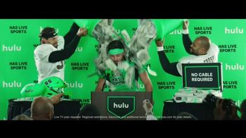 Hulu TV Spot, 'Baker Mayfield's Hulu Has Live Sports Audible' - Thumbnail 8
