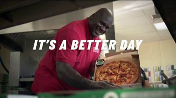 Papa John's TV Spot, 'Better Day in the Boardroom' Featuring Shaquille O'Neal - Thumbnail 10
