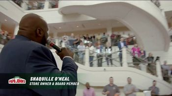 Papa John's TV Spot, 'Better Day in the Boardroom' Featuring Shaquille O'Neal - Thumbnail 4