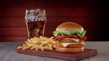 Jack in the Box Really Big Chicken Sandwich Combo TV Spot, 'Tickle My Elbow: Prices' - Thumbnail 2