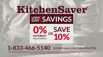 Kitchen Saver Labor Day Savings TV Spot, 'Stop Laboring' - Thumbnail 10